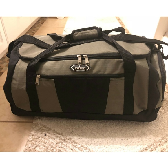 679b7587e970 NEW Everest Duffle Gym Travel Bag Olive Large